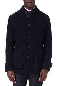 OLIVER SPENCER Surveillance virgin wool jacket
