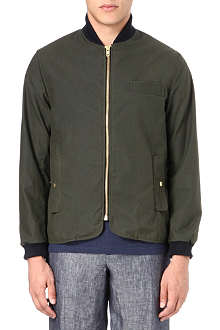 OLIVER SPENCER Lambeth waxed-cotton jacket