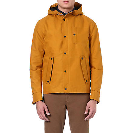 OLIVER SPENCER Hooded raincoat (Yellow