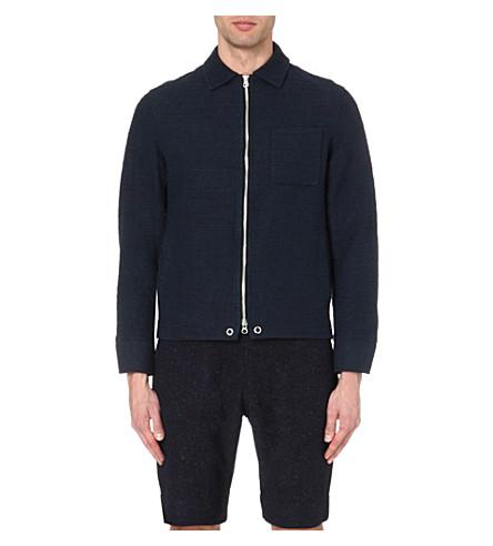 OLIVER SPENCER Tweed jacket (Imperial+navy