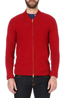 OLIVER SPENCER Zip-front cardigan
