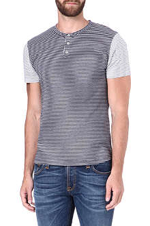 OLIVER SPENCER Peloton striped t-shirt
