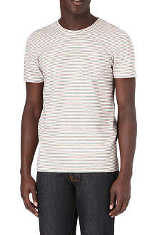 OLIVER SPENCER 2by2 striped t-shirt