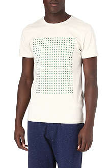 OLIVER SPENCER Dot print t-shirt
