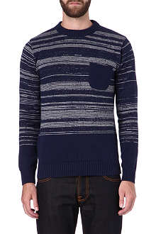 OLIVER SPENCER Mixed-yarn jumper