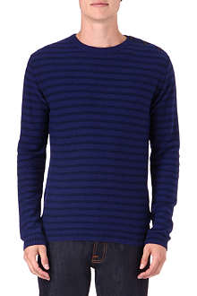 OLIVER SPENCER Reverse knit jumper