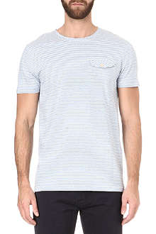 OLIVER SPENCER Candy stripe t-shirt