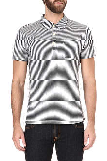 OLIVER SPENCER Striped polo shirt