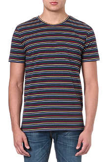 OLIVER SPENCER Chest-pocket t-shirt