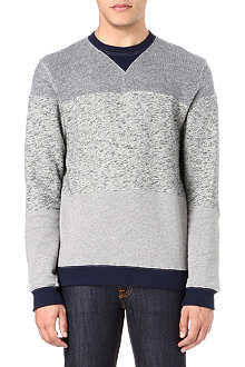 OLIVER SPENCER Panelled sweatshirt