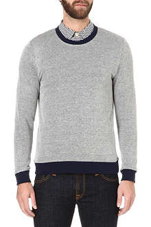 OLIVER SPENCER Textured sweatshirt