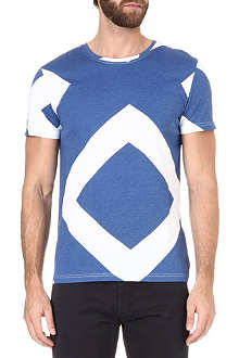 OLIVER SPENCER Diamond print t-shirt