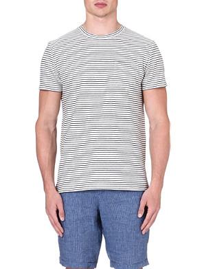 OLIVER SPENCER Striped t-shirt