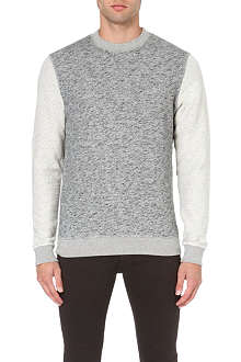 OLIVER SPENCER Reverse sleeve sweatshirt