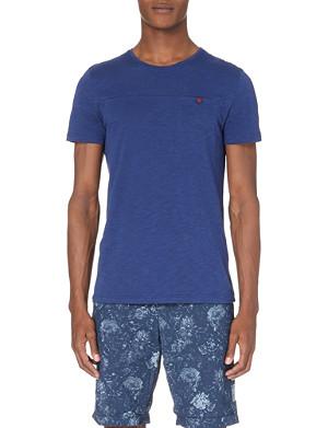 OLIVER SPENCER Cotton-jersey t-shirt