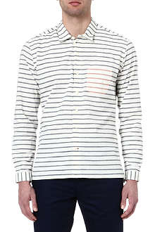 OLIVER SPENCER Striped cotton shirt