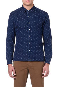 OLIVER SPENCER Calvert denim shirt