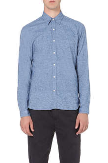 OLIVER SPENCER Brushed-cotton shirt