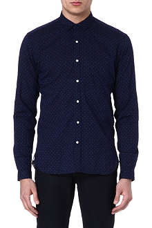OLIVER SPENCER Polka dot-print shirt