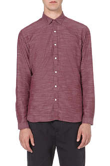 OLIVER SPENCER Rockland textured cotton shirt