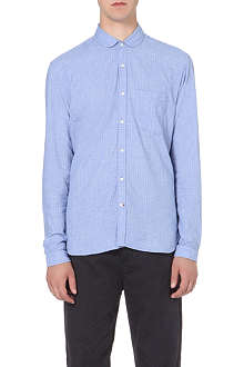 OLIVER SPENCER Penny-collar cotton shirt