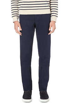OLIVER SPENCER Fishtail stretch-cotton trousers