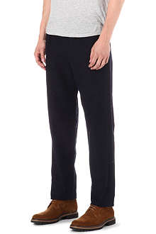 OLIVER SPENCER Pleated trousers