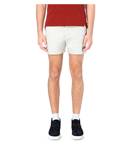 ORLEBAR BROWN Cavaton deck shorts (Chalk