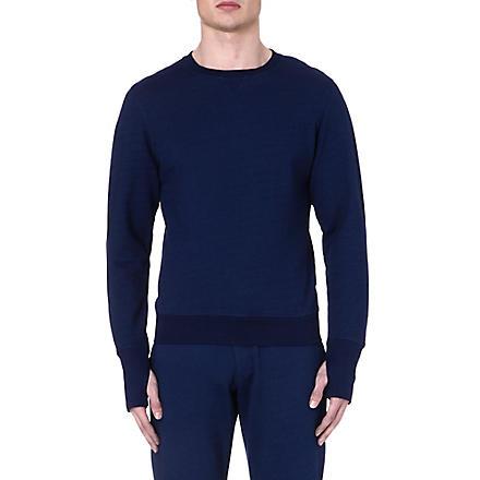 ORLEBAR BROWN Dudley cotton sweatshirt (Denim