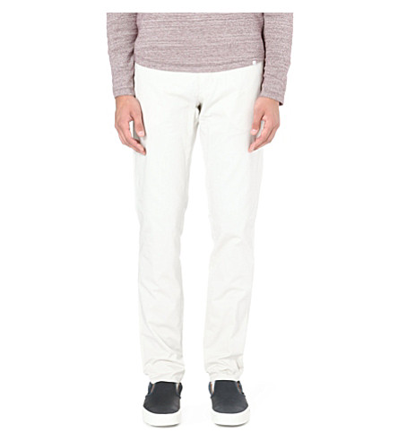 ORLEBAR BROWN Griffon tailored trousers (Chalk