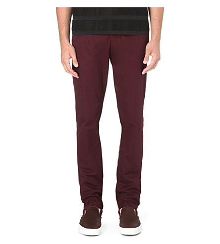 ORLEBAR BROWN Griffon tailored trousers (Bordeaux
