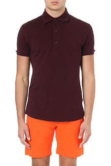 ORLEBAR BROWN Harris piqué-cotton polo shirt