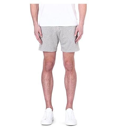 ORLEBAR BROWN Lab cotton shorts (Grey