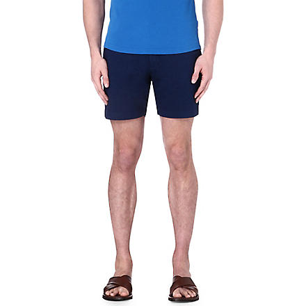 ORLEBAR BROWN Lab cotton shorts (Denim