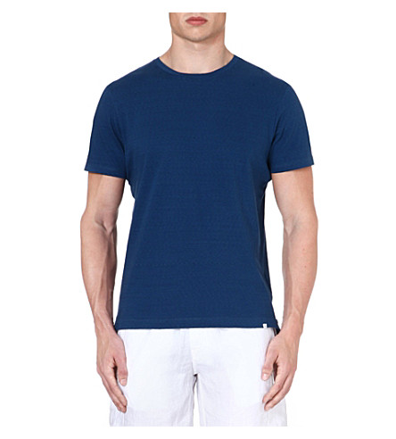 ORLEBAR BROWN Sammy crew-neck t-shirt (Blue