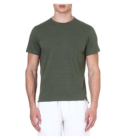 ORLEBAR BROWN Sammy crew-neck t-shirt (Olive