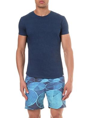 ORLEBAR BROWN Tommy curved-hem cotton t-shirt