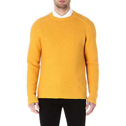 FOLK Tuck stitch jumper (Amber