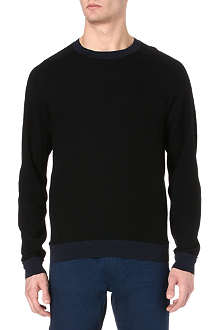 FOLK Felt wool sweatshirt