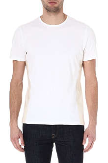 FOLK Panel cotton t-shirt