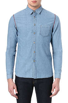 FOLK Ico chambray shirt