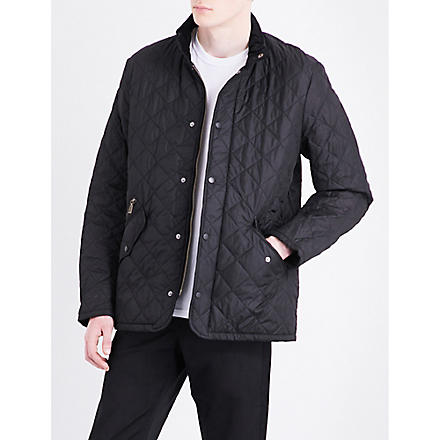 BARBOUR Chelsea quilted jacket (Black
