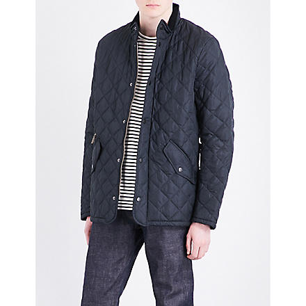 BARBOUR Chelsea quilted jacket (Navy
