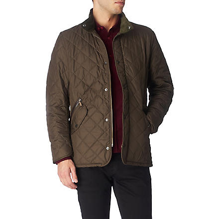 BARBOUR Chelsea quilted jacket (Olive