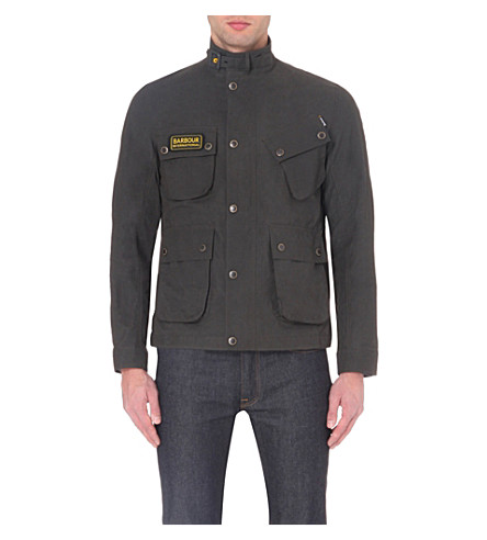 BARBOUR Besant motorcycle jacket (Charcoal