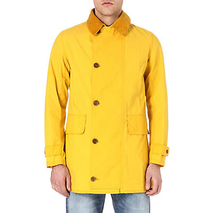 BARBOUR Stanhope coat (Yellow