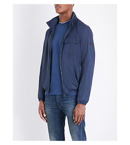 BARBOUR Scarp Casual lightweight shell jacket (Navy