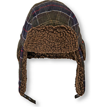 BARBOUR Tartan hunter hat (Multi