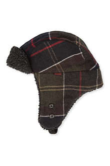 BARBOUR Hunter tartan hat