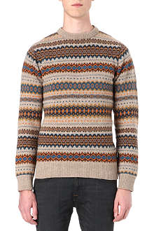 BARBOUR Caister Fair Isle jumper